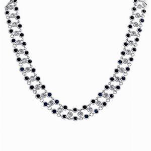 Sapphire & Diamond Choker